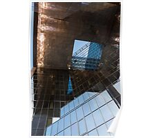 Copper, Glass and Steel Geometry - Fabulous Modern Architecture in London, UK Poster