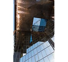 Copper, Glass and Steel Geometry - Fabulous Modern Architecture in London, UK Photographic Print