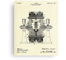 Electric Circuit Controller-1898 Metal Print