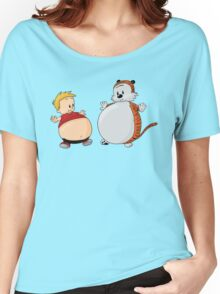 Calvin And Hobbes Funny Women's Relaxed Fit T-Shirt