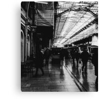 London Paddington - Black and White Canvas Print