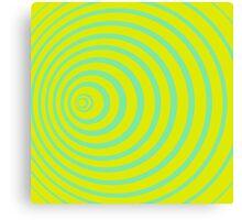 Doppler effect Canvas Print