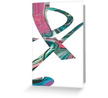 Funny Figure 3 Greeting Card