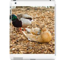partner ducks iPad Case/Skin