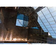 Copper, Glass and Steel Geometry - Fabulous Modern Architecture in London, UK - Horizontal  Photographic Print