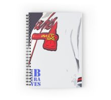 Atlanta Braves 4 Spiral Notebook