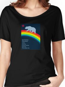 San Francisco. Women's Relaxed Fit T-Shirt