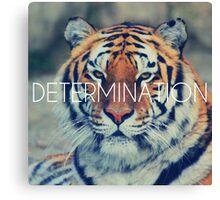 Tiger Motivation Determination Canvas Print