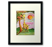 Giraffee Framed Print