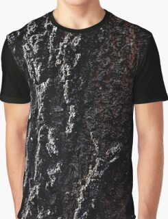 Charcoal Bark Graphic T-Shirt