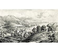 Darrynane Abbey - Ireland the Home of O'Connell - 1869 - Currier & Ives Photographic Print