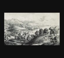 Darrynane Abbey - Ireland the Home of O'Connell - 1869 - Currier & Ives One Piece - Long Sleeve