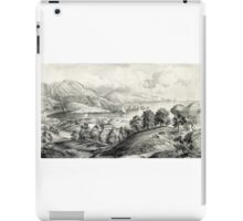 Darrynane Abbey - Ireland the Home of O'Connell - 1869 - Currier & Ives iPad Case/Skin