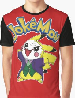 Pokemon Pikachu Jokemon Graphic T-Shirt