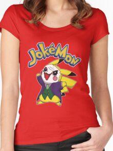Pokemon Pikachu Jokemon Women's Fitted Scoop T-Shirt