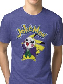 Pokemon Pikachu Jokemon Tri-blend T-Shirt