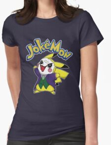 Pokemon Pikachu Jokemon Womens Fitted T-Shirt