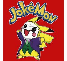 Pokemon Pikachu Jokemon Photographic Print