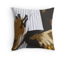 Yankees baseball team Throw Pillow