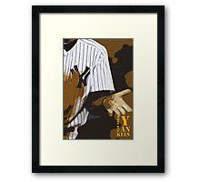 Yankees baseball team Framed Print