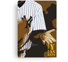 Yankees baseball team Canvas Print