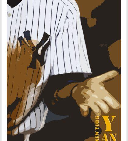 Yankees baseball team Sticker