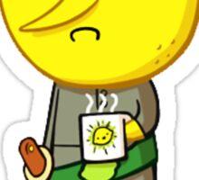 Lemon Grab Unacceptable Sticker