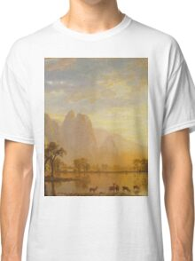 Albert Bierstadt - Valley of the Yosemite 1864 American Landscape Classic T-Shirt