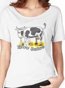 Moo Juice Women's Relaxed Fit T-Shirt