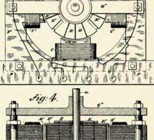 Electro Magnetic Motor-1888 Sticker