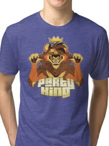 Party King (Brown) Tri-blend T-Shirt