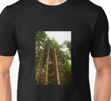 Pine Tree Trunks Unisex T-Shirt