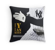 New York Yankees, run! Throw Pillow