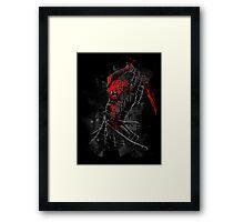 Blood of the Lion Framed Print