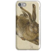 Albrecht Durer  - Hare 1502  Portrait Fashion iPhone Case/Skin