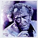 BUKOWSKI - Original painting by ARTito