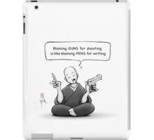 The Zen of Tools iPad Case/Skin