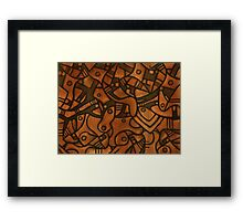 Reality Number One Framed Print