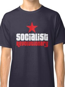 Socialist Revolutionary Red Star Classic T-Shirt