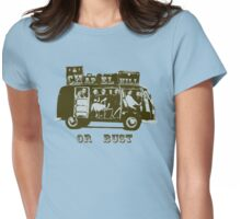 Chapel Hill or Bust! Womens Fitted T-Shirt