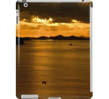 ...sunset over Greek waters .. iPad Case/Skin