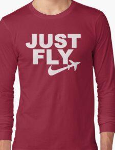 Wiz Khalifa - Just Fly Long Sleeve T-Shirt
