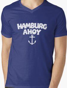 Hamburg Ahoy Mens V-Neck T-Shirt
