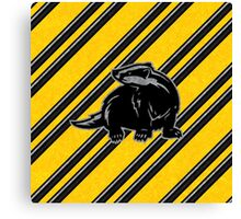 Helga's Badger Canvas Print