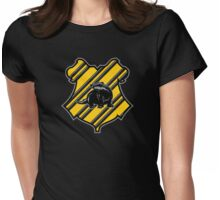Helga's Badger Womens Fitted T-Shirt