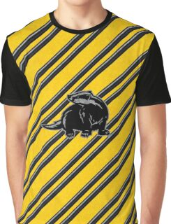Helga's Badger Graphic T-Shirt