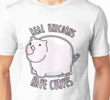 Real Unicorns Have Curves Unisex T-Shirt