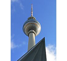 Berlin TV Tower, Alex Photographic Print