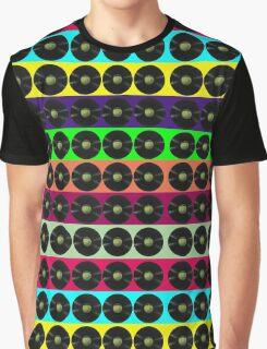 Apple vinyl Graphic T-Shirt