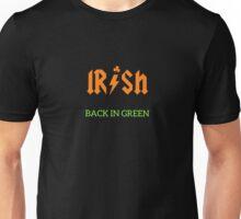 Irish Back In Green ACDC Inspired Unisex T-Shirt
